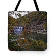 Cumberland Falls E Tote Bag
