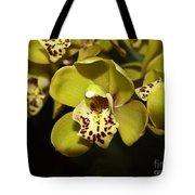 Cumbidium Orchid Tote Bag