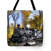 Cumbres And Toltec Railroad Tote Bag