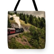 Cumbres And Toltec Train Co And Hm Tote Bag