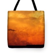 Cumulus Congestus Sunset Tote Bag