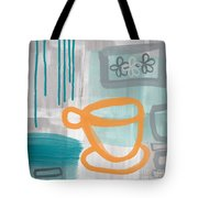 Cup Of Happiness Tote Bag by Linda Woods