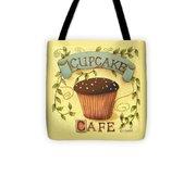 Cupcake Cafe Tote Bag