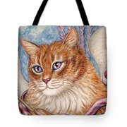 Cupid Kitty Tote Bag
