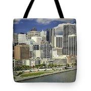 Cupid's Span Waterfront San Francisco Tote Bag