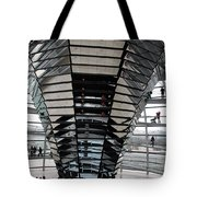 Cupola Reichstag Building II Tote Bag
