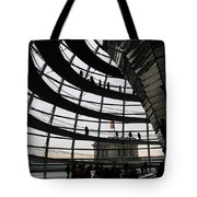 Cupola Reichstags Building Berlin Tote Bag