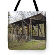 Cuppet's Covered Bridge Tote Bag