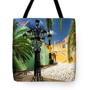 Curacao Colorful Architecture Tote Bag