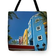 Curacaos Colorful Architecture Tote Bag
