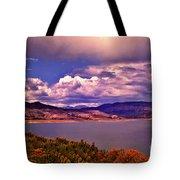 Curecanti Autumn Blue Mesa Colorado Tote Bag