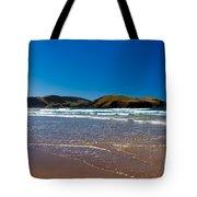 Curio Bay On South Coast Of New Zealand South Island Tote Bag