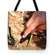 Curiosity Of A Child Tote Bag
