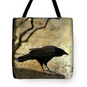 Curious Crow Tote Bag