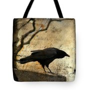Curious Crow Tote Bag