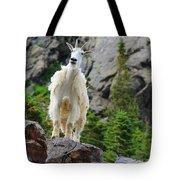 Curious Goat Tote Bag