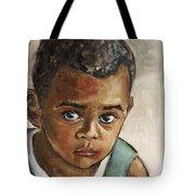 Curious Little Boy Tote Bag