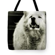 Curious Wolf Breed Tote Bag