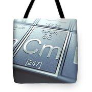 Curium Chemical Element Tote Bag