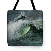 Curl Of The Wave Tote Bag