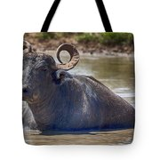 Curly Horns Tote Bag