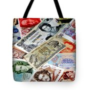 Currencies Tote Bag