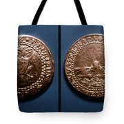 Currency: U.s. Coin, 1787 Tote Bag