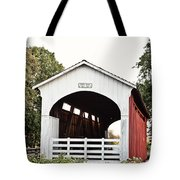 Currin Covered Bridge Tote Bag