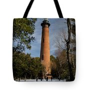 Currituck Beach Lighthouse Corolla Nc Color Img 3772 Tote Bag
