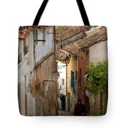 Currruca Slope In Calahorra Tote Bag