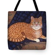 Curry The Cat Tote Bag