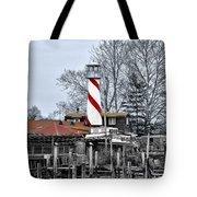 Curtin's Wharf Burlington New Jersey Tote Bag