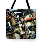 Curtiss Ox-5 Airplane Engine Tote Bag