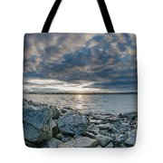 Curve Off The Bay Tote Bag