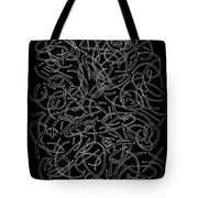 Curved Encounter Tote Bag