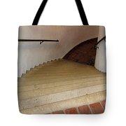 Curved Stairway At Brandywine River Museum Tote Bag