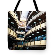 Curved Walkways Tote Bag