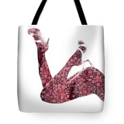 Curves And Squares Tote Bag