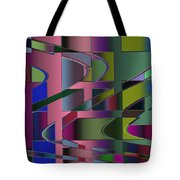 Curves And Trapezoids 3 Tote Bag
