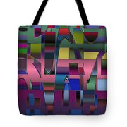 Curves And Trapezoids  Tote Bag
