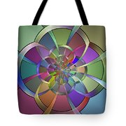 Curves Tote Bag by Sandy Keeton