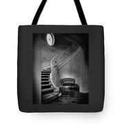 Curving Staircase In The Home Of  W. E. Sheppard Tote Bag