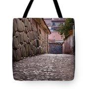 Cusco City Street Tote Bag
