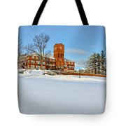 Cushing Academy In Winter Tote Bag