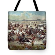 Custer's Last Charge Tote Bag