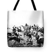 Custer's Last Fight, 1876 Tote Bag