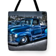Custom Chevy Pickup Tote Bag