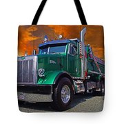 Custom Gravel Truck Catr0278-12 Tote Bag