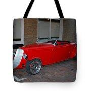 Custom Hotrod Tote Bag