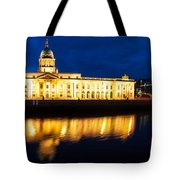 Custom House And International Financial Services Centre Tote Bag